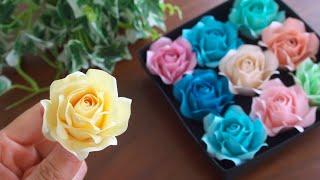 DIY How to Make Paper Roses