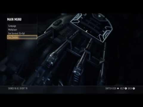 Advanced Warfare - How To Get Zombies! Unlock Exo Zombies! *CoD AW*