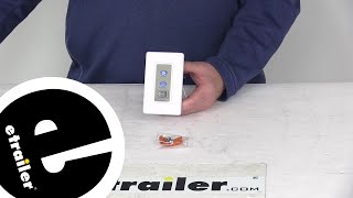 etrailer   Review of LaSalle Bristol - RV Ceiling Fans - 344410TSSW12V