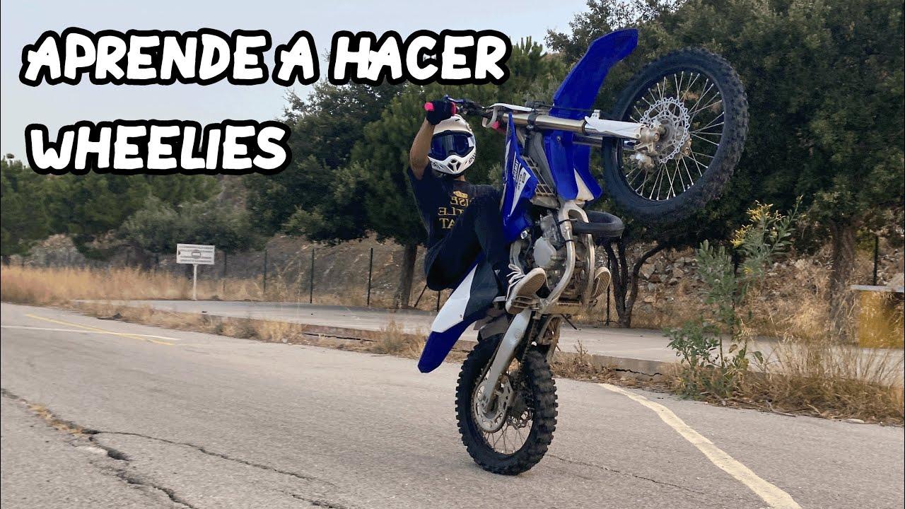 Como Hacer Wheelies con Motocross +Trucos y Consejos