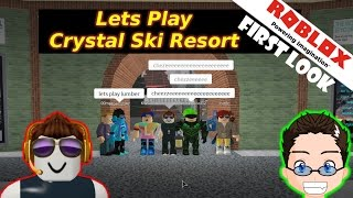 Roblox - Crystal Ski Resort - First Look and Lets Play