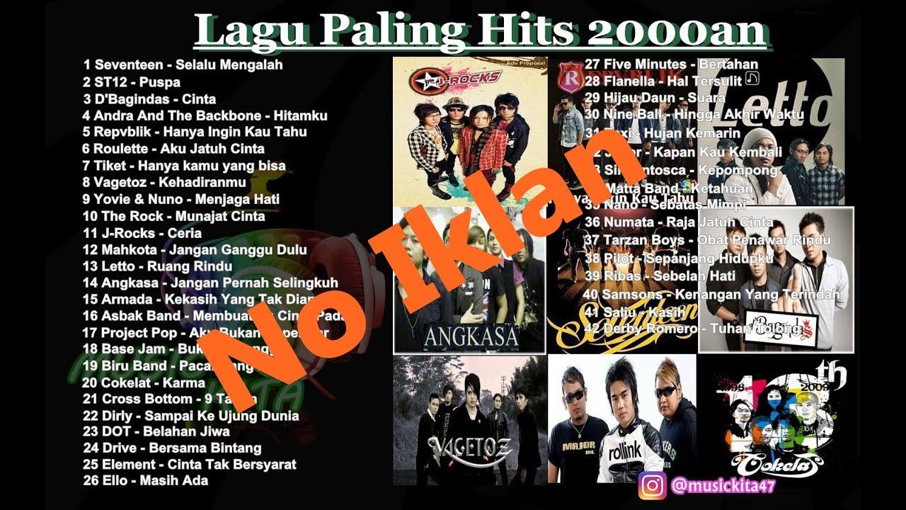 Download Kumpulan Lagu Pop Paling Populer Tahun 2000an