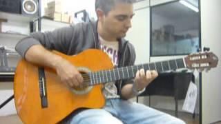 Teste Violão Giannini Nf14