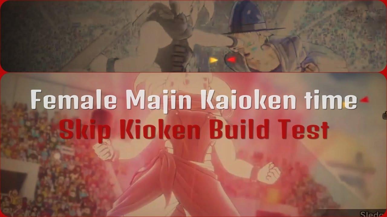 Kaioken Female Majin Build Xenoverse