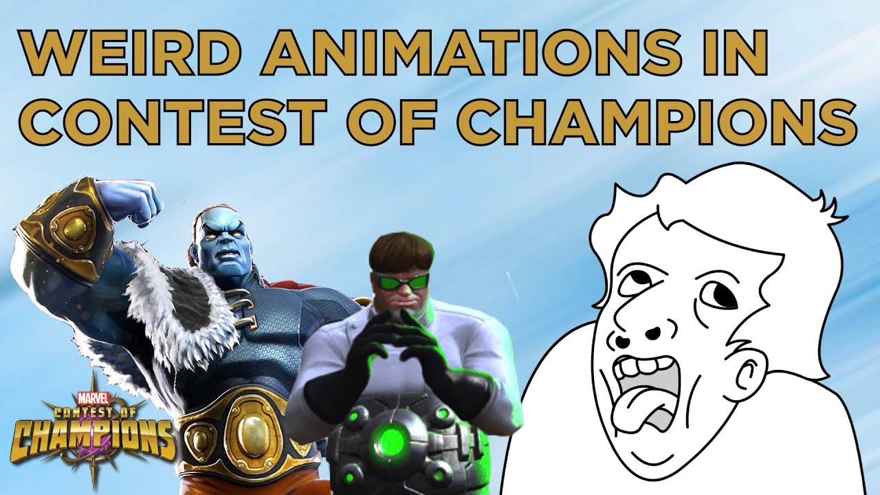 The weirdest in-game animations in Marvel Contest of Champions