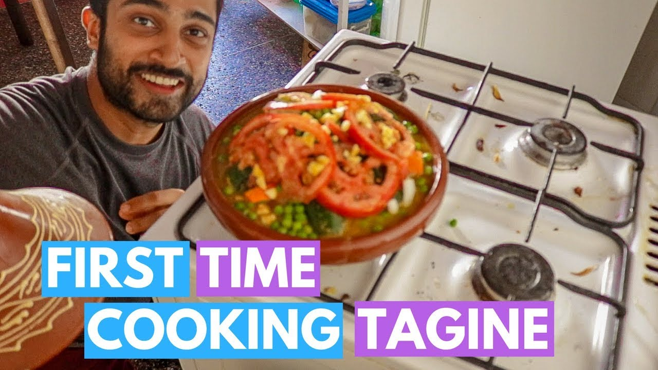FIRST TIME COOKING TAGINE - A Whole New Way Of Cooking