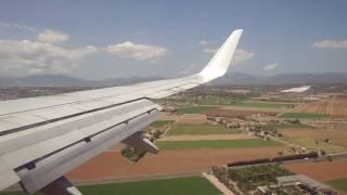 Transavia B737-800 Landing Palma De Mallorca HQ