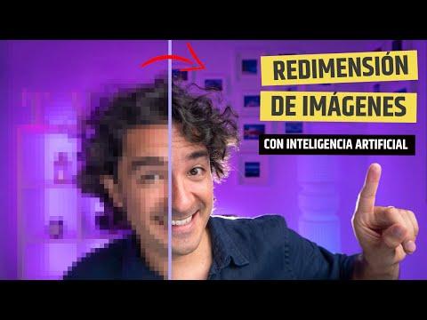 🔥 ¿Redimensionar imágenes sin perder calidad? Usa la Inteligencia Artificial #84