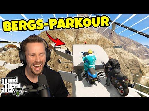 PARKOUR RACE I BERGEN  GTA 5 med SoftisFFS