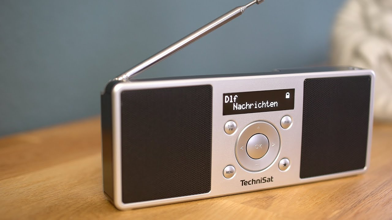 Video: Short Review DIGITRADIO 1 S | Portables DAB+/UKW-Stereoradio - Made in Germany | TechniSat