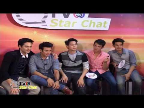 130628 (เต็มรายการ)ThaiTV3 - StarChat สุภาพบุรุษจุฑาเทพ เกรท โป๊ป เจมส์ บอม เจมส์