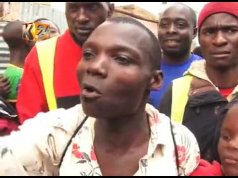 Man and woman get stuck while having an illicit affair in Kisii