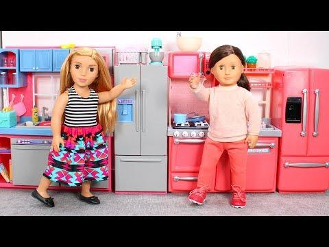 Our Generation Gourmet Kitchen or Journey Girls Gourmet Kitchen
