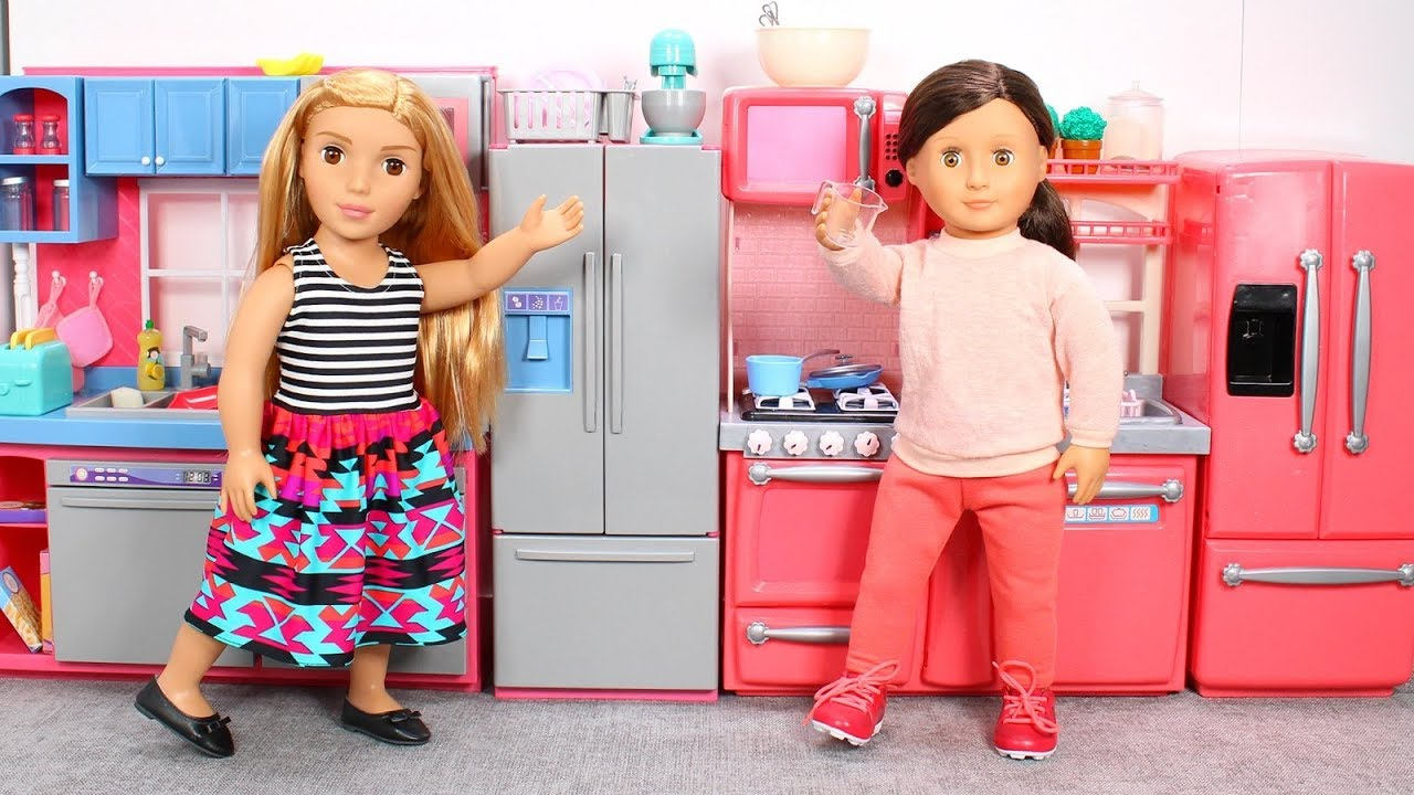 Food And Cooking At Toys R Us : Our generation gourmet kitchen or journey girls gourmet kitchen
