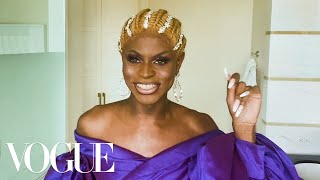 RuPaul's Drag Race Star Symone's Guide to Regal, Runway-Ready Makeup | Beauty Secrets | Vogue