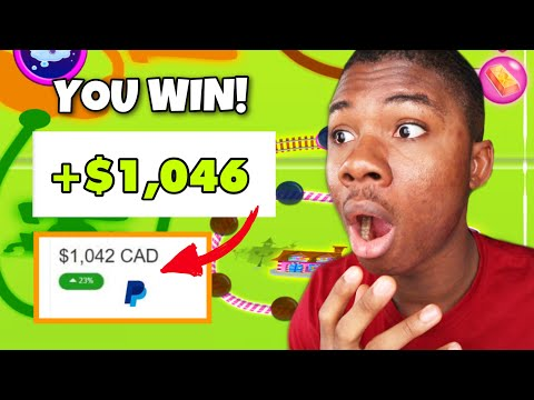 FREE Game Pays $1,500+ Real Paypal Money! *Still Paying* (Make Money Online)