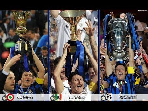 Inter Story 2009/2010 - Treble Winner ( SeriA, Coppa U0026 Liga Champions)