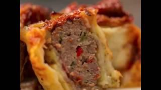 Amasya Et ürünleri ile Evde Lezzetler 5 - Patlıcanlı Rulo Köfte