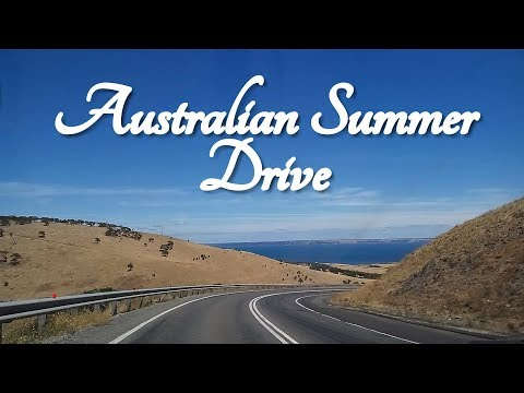 ASMR  Australian Summer Drive (To Cape Jervis)