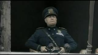 Mussolini - Dichiarazione di guerra (completa + testo) a Francia e Inghilterra 10/6/1940