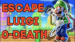 How To Escape Luigi's 0 To Death Grab Combo (SDI GUIDE)