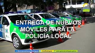 SE ENTREGARON NUEVOS MÓVILES A LA POLICÍA LOCAL