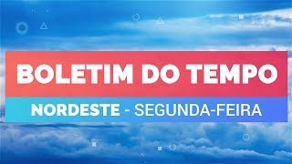 Previsão Nordeste – Frente fria chega à costa da Bahia
