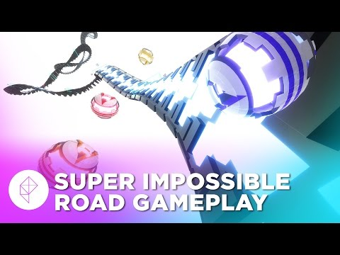 Super Impossible Road: An ultra-fast futuristic racing game where cheating is mandatory