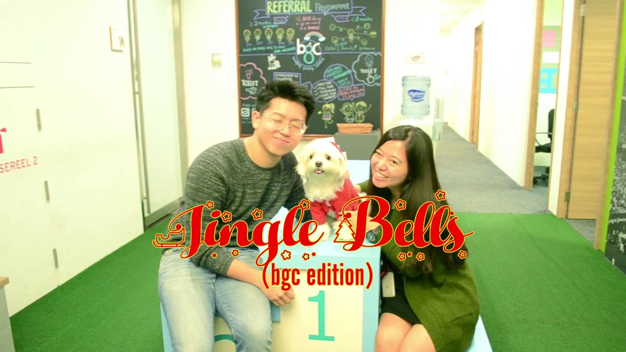 Jingle Bells MV - Miko (Professional Office Cuddler at BGC Group)