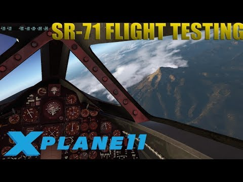 [X-Plane 11] SR-71 Beale AFB to Portland