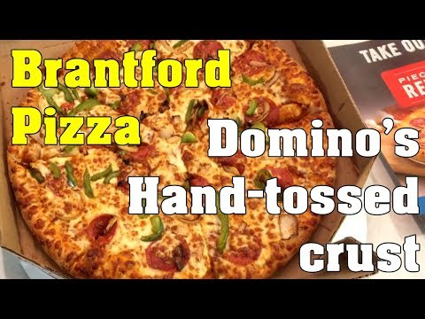 Brantford Pizza Domino's Hand Tossed Crust Large