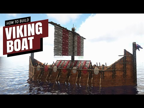 Ark: Viking Boat Platform (Speed Build)
