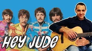 The Beatles - Hey Jude - Easy Guitar Lesson