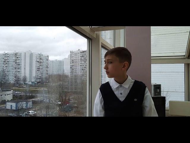 Изображение предпросмотра прочтения – ДанилНегрий читает произведение «Жди меня К.Симонов»