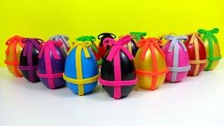 Many Gift Surprise Eggs Spiderman Frozen Masha Mickey Robocar Super Mario Toys Thumbnail