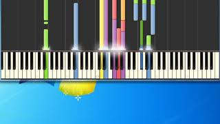 Al Jarreau   Mornin' [Synthesia Piano] [Piano Tutorial Synthesia]