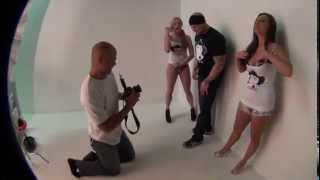 SLIVAN #327 photo shoot with Abigail Mac, Dahlia Sky & Luke Hawx