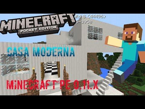 La mejor casa moderna para minecraft pe ios for Casa moderna en minecraft pe 0 16 0