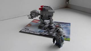Микрофайдер Ат Ат Лего Зведные війни Lego Microfighters Star Wars