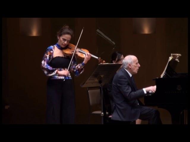 Ravel Sonate violin & piano 2/3 & 3/3 (Sandrine Cantoreggi & Bruno Canino) Hakuju Hall Tokyo 2018
