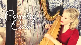 """""""Coventry Carol"""" played on the harp."""