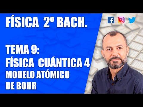 física-cuántica-4---tema-9---física-2-bachillerato---modelo-atómico-de-bohr