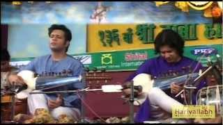 Ustad Amaan Ali & Ayaan Ali Bangash -- Sarod -- Part 5 - The 136th Harivallabh 2011