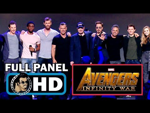 AVENGERS: INFINITY WAR Full D23 Cast Panel...