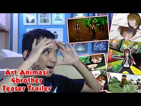 Ini Semua Kelewatan Keren !! | Review Art Animasi 4 Brother Teaser Trailer Eps 5