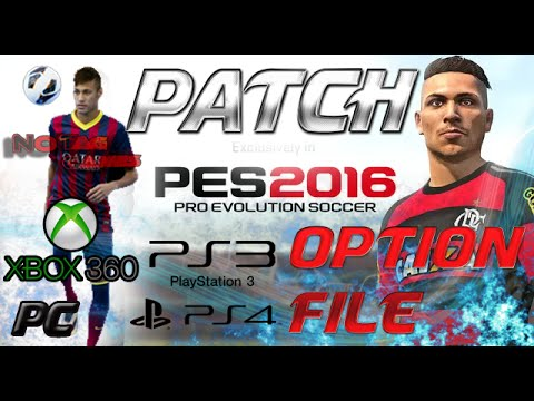 pes 2016 ps3 option file