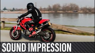 Ducati Monster 696 - Sound Impression