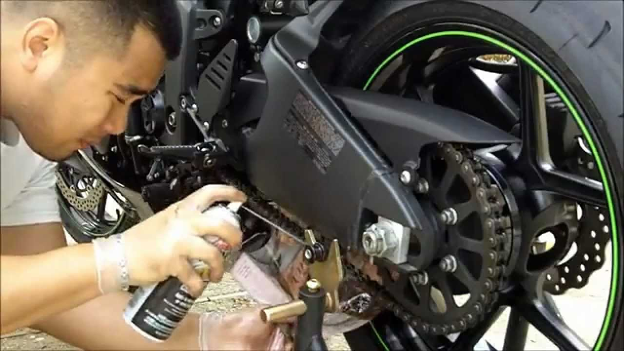Best Motorcycle Chain Lubricant
