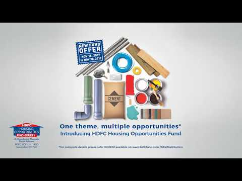 HDFC HOUSING OPPORTUNITIES FUND - SERIES 1