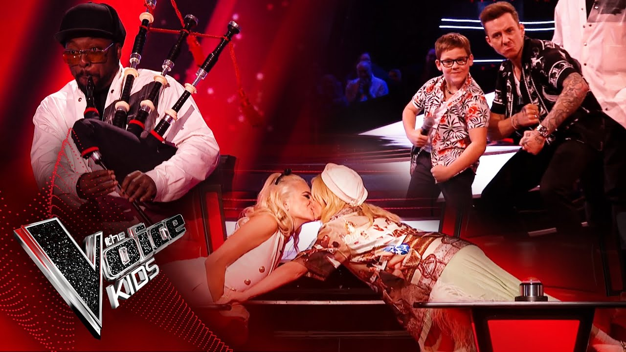 Download The Funniest Moments from the Blind Auditions! | The Voice Kids UK 2020